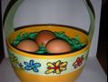 Cosulet pt ouale vopsite – activitati pentru Paste