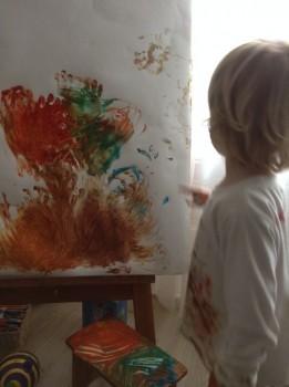 CAPO d'OPERA – Atelier de pictura pentru pici, mamici, tatici, bunici (si bone)